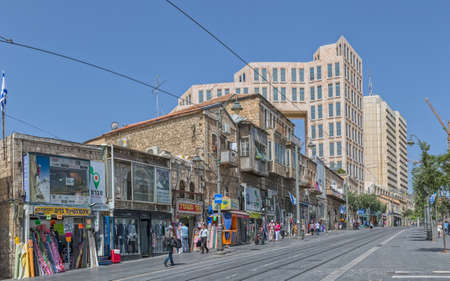 yaffo: Jerusalem Yaffo street