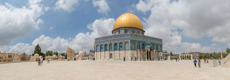 Dome of the Rock panoramic