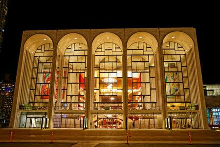 Metropolitan opera house New York Editorial