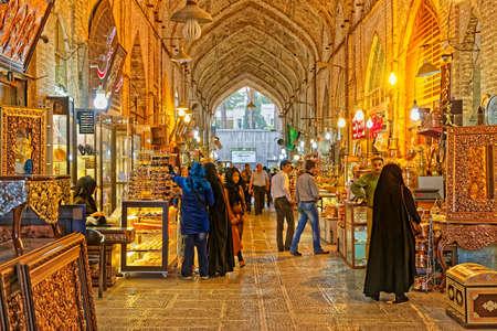 Gheisari bazar in Isfahan
