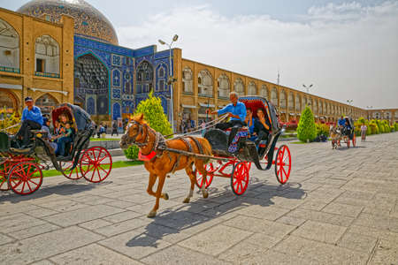 Isfahan Imam Square carriage ride