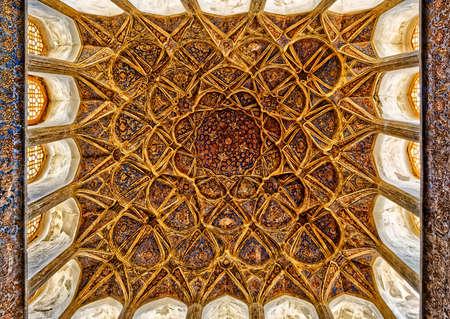 Ali Qapu Palace music hall ceiling