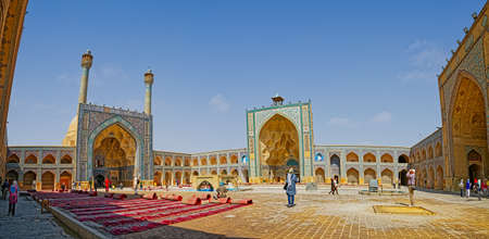 Jameh Mosque of Isfahan 에디토리얼