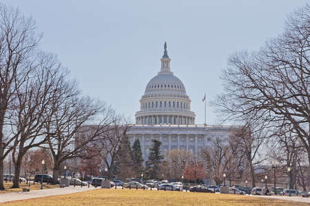 United States Capitol building in Washington DC Stock Photo