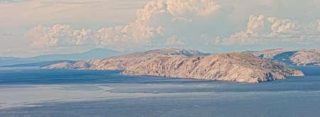 Goli Otok Island In Velebit Channel, Croatia