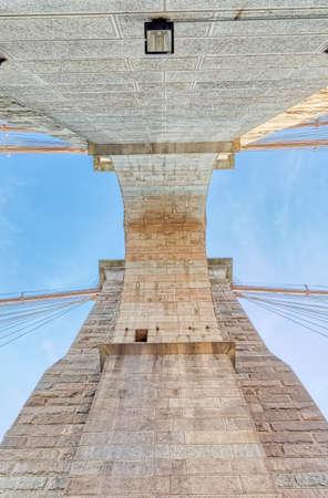 Brooklyn Bridge in New York Banque d'images