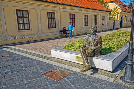 Luka Botic statue Djakovo
