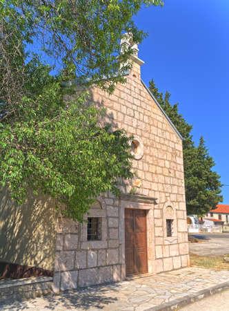 Church of St. Roch in village Citluk in Croatia
