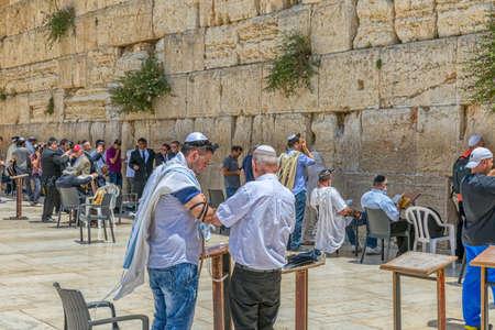 Western Wall male side Jerusalem