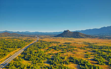 Hill Zir near the Dalmatina highway