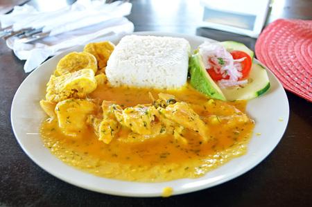 ecuadorian: Encocado of shrimp