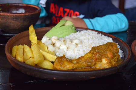 mote: Seco de Pollo Chicken Stock Photo
