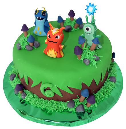 cake slug terra fondant