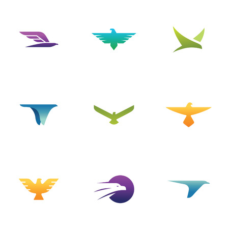 Hawk Symbols Ilustracja