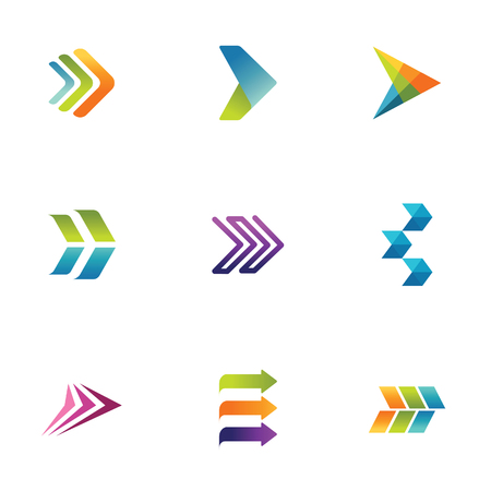 Arrow symbols Illustration