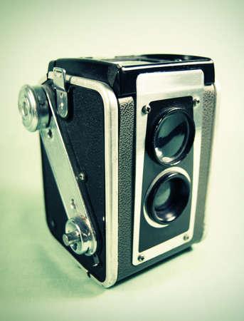 Antique Camera (Twin Lens Reflex) Standard-Bild