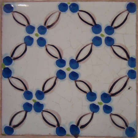 Formella Veneziana realizzato nella metà del 19 ° secolo azulejos Veneciano realizado un mediados Del Siglo 19 telha de Veneza meados feita em do Século 19