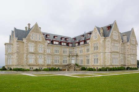 magdalena: Magdalena Magdalena Palace in Santander Cantabria Spain Garden