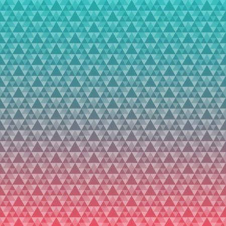 angular: Seamless triangle pattern background design. vector stock eps 10 illustration Illustration