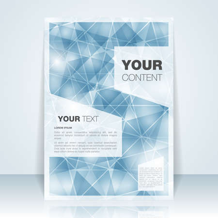 ruby: Abstract Flyer or Cover Design - EPS10 Illustration