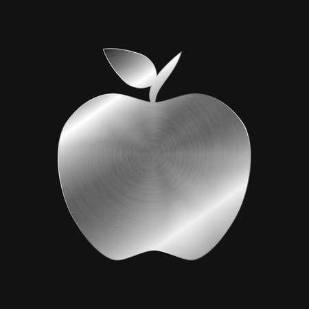 Metal icon - apple