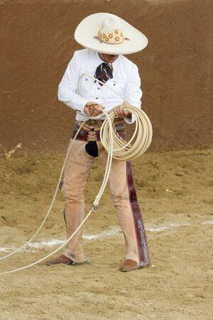 Charro and rope