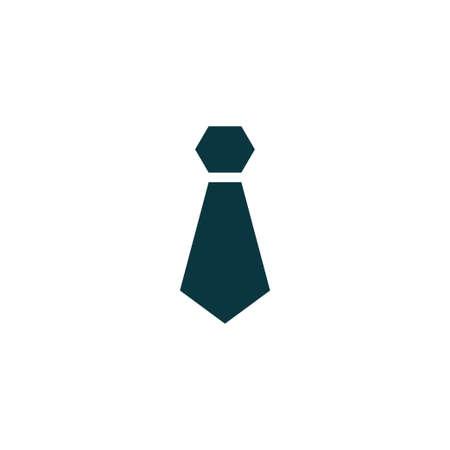 ネクタイ アイコン シンプルなビジネス サイン ベクトル図 写真素材 - 84072079