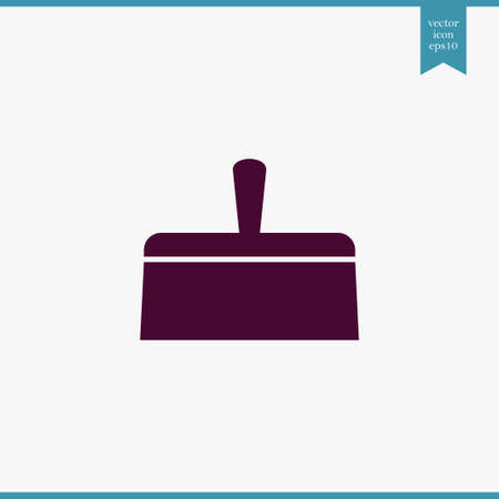 Putty knife icon simple construction sign vector illustration Фото со стока - 84181764