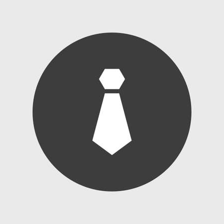 ネクタイ アイコン検索ベクトル図  イラスト・ベクター素材