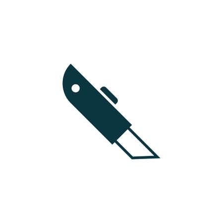 Cutter Icon einfache Konstruktion Zeichen Vektor-Illustration