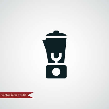 Blender icon simple coocking vector illustration mixer sign