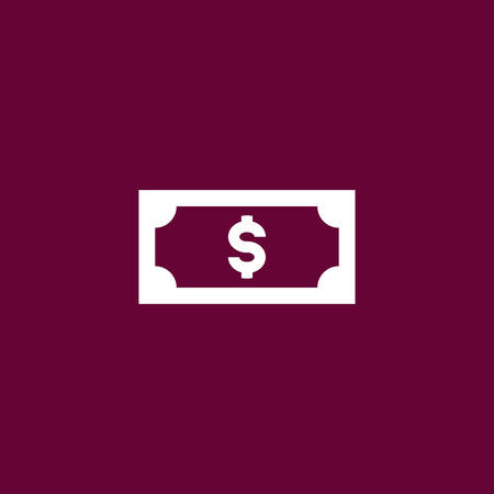 Money icon simple cash sign vector illustration