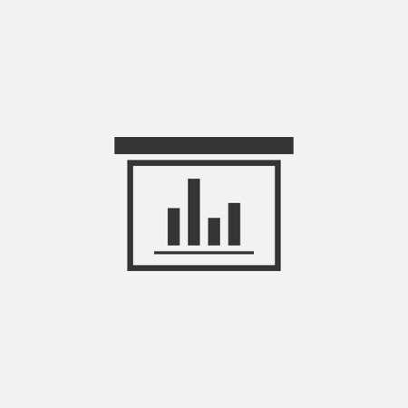 Diagramma icon business simple vector illustration