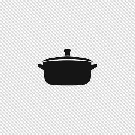 Pan icône simple cuisson signe vector illustration alimentaire