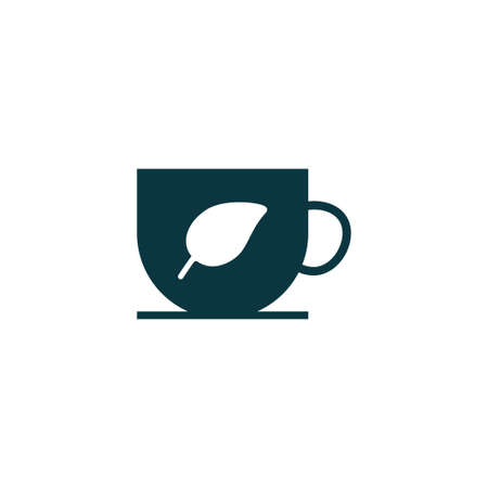 Cup icon simple ecology vector eco illustration sign