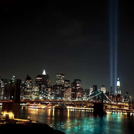 WTC Light Beams