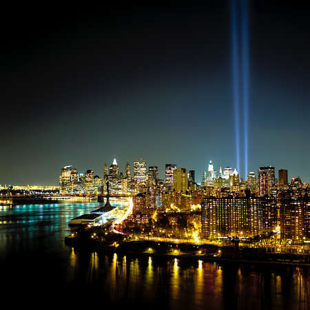 World Trade Center Light Beams