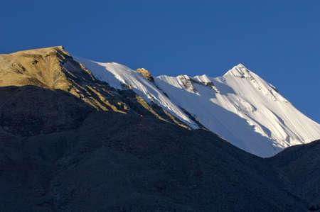 jokul: snow mountain in China