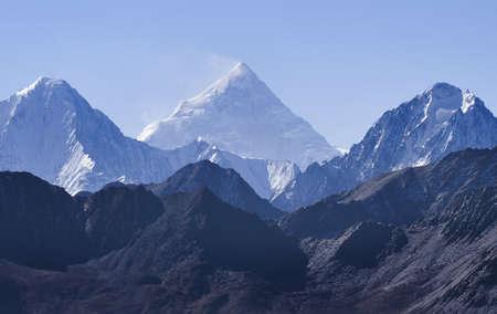 jokul: Gongga snow mountain in China