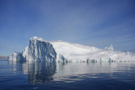 icefjord: Iceberg from the Ilulissat Icefjord, Disko Bay, West Greenland