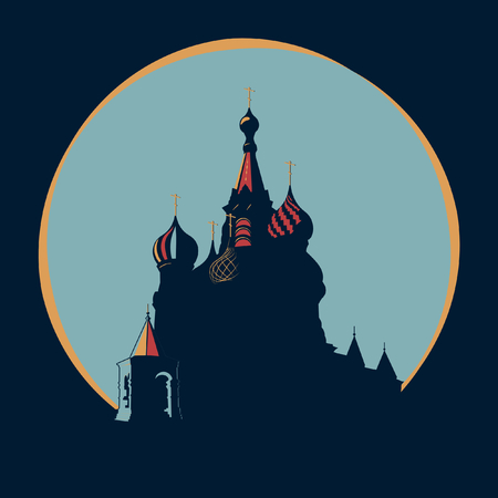 Vasily The Blessed Temple in original style