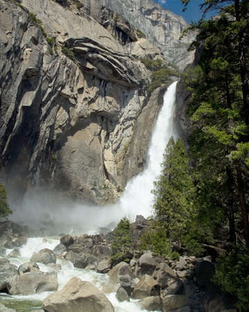 Lower Main Yosemite Falls