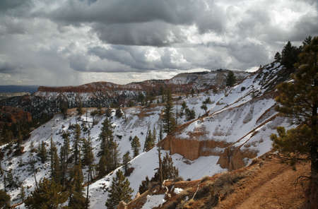 Passing Storm Over Bryce Canyon