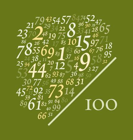 cien números más de un centenar de