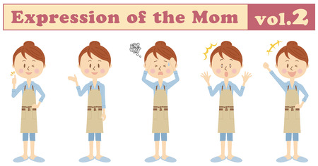 Expression of various moms vol.2
