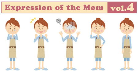 Expression of various moms vol.4