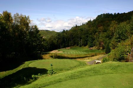 Golf course in Tremblant