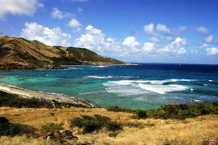 St-Martin beach Stock Photo