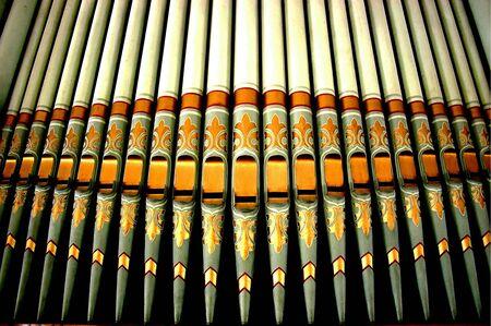 organs: Organ pipes