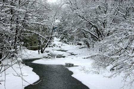 Wintery flow